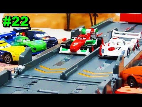 Disney Cars 2 Case And Grand Prix Race Track Doovi