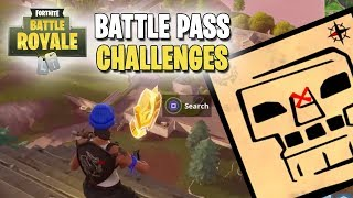 Fortnite | Battle Pass Challenges | Week #5 | Search the Treasure Map Found in Greasy Grove!