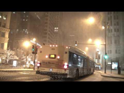 Chicago Winter Storm-Heavy Snow! -HD