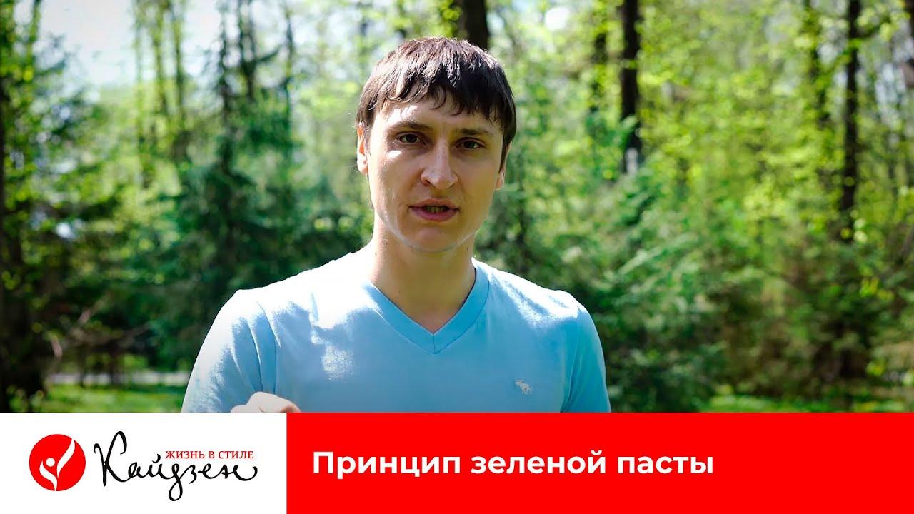Евгений Попов | Принцип зеленой пасты | Жизнь в стиле КАЙДЗЕН