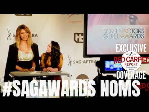 25th Screen Actors Guild Awards Nominations Announcement #Awkwafina #LaverneCox  #SAGAwards