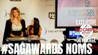 25th Screen Actors Guild Awards Nominations Announcement #Awkwafina #LaverneCox  #SAGAwards Video