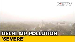 Delhi Air Quality Crosses