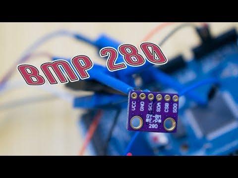 Барометр, термометр, альтиметр. BMP280