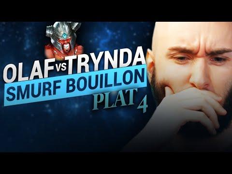 Vidéo d'Alderiate : ALDERIATE & AKABANE - SMURFING BOUILLON - OLAF VS TRYNDAMERE - NE JAMAIS FIRST TIME PAS TRYNDA