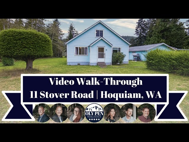 11 Stover Rd | Hoquiam, WA | Video Walk-Through