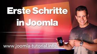 Erste Schritte in Joomla