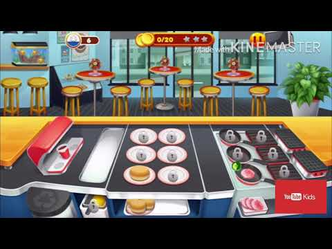 học chơi Cookinggame cho trẻ/Cookinggame play learning