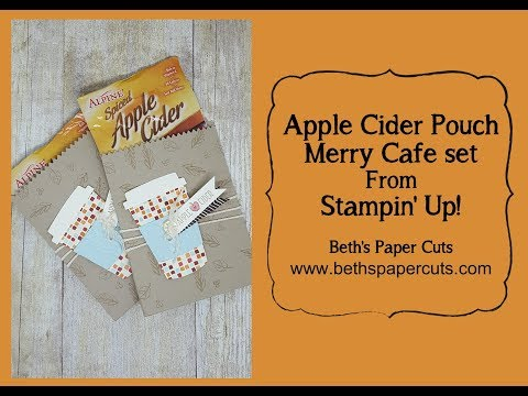 Apple Cider Packet with Merry Cafe set ~ Beth's Paper Cuts