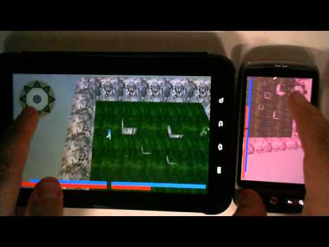 Wizard Wars - Android Game Development - Bachelors Thesis at GUC 2011