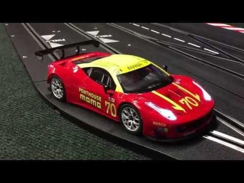 Carrera Slot Cars Turkey Run Enduro 2015 video by Cincyslots