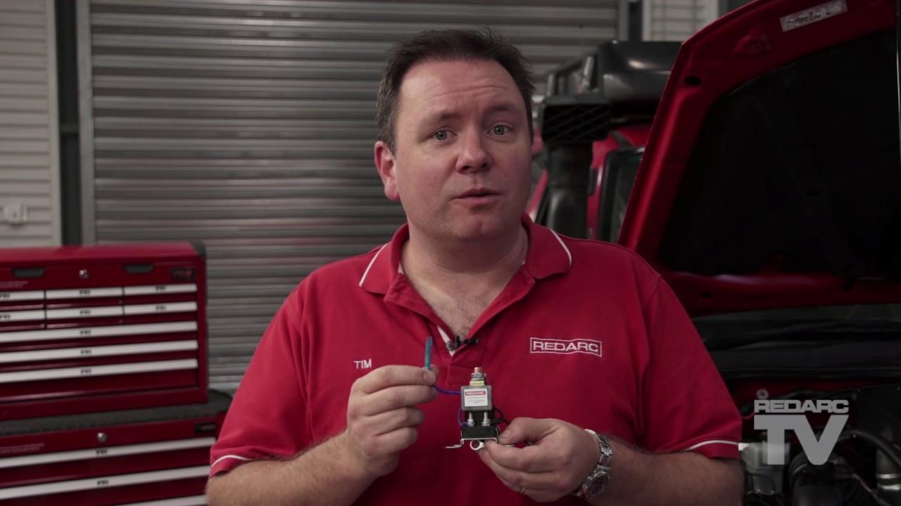 Redarc Bcdc1220 Wiring Diagram Australian Trailer Plug How To Install The Smart Battery Isolator Sbi Youtube