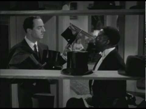 Love Crazy (1941) - William Powell pretending to be crazy