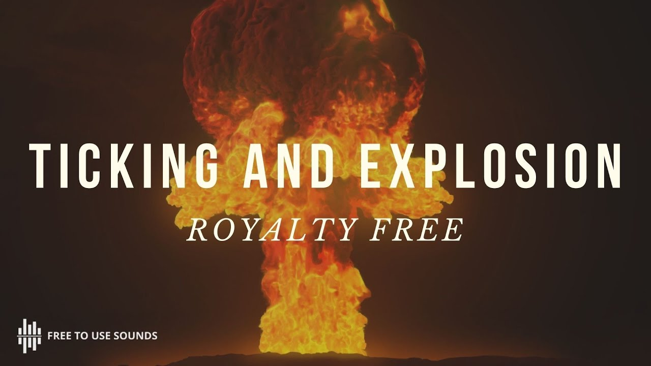 Free Ticking Timer Sound Effects! Bomb & Explosion Sound Effect