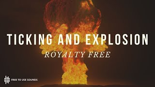 Free Ticking Timer Sound Effects! Bomb Explosion Sound Effect