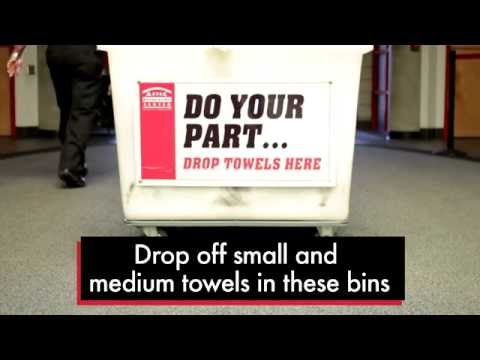 New Towel Service