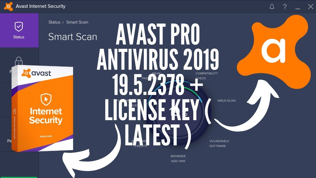 Avast Pro Antivirus 2019 19.5.2378 + license key ( Latest ...