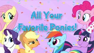 MY LITTLE PONY: Party of One app for iPad, iPhone, and iPod Touch!