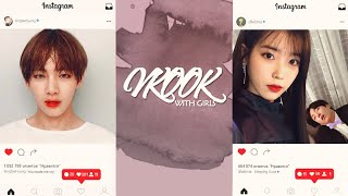 taekook [+with girls]; relationship with girls