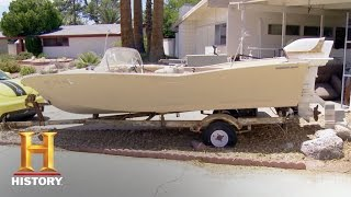 Counting Cars: Bonus: Classic Boat Pullover | History