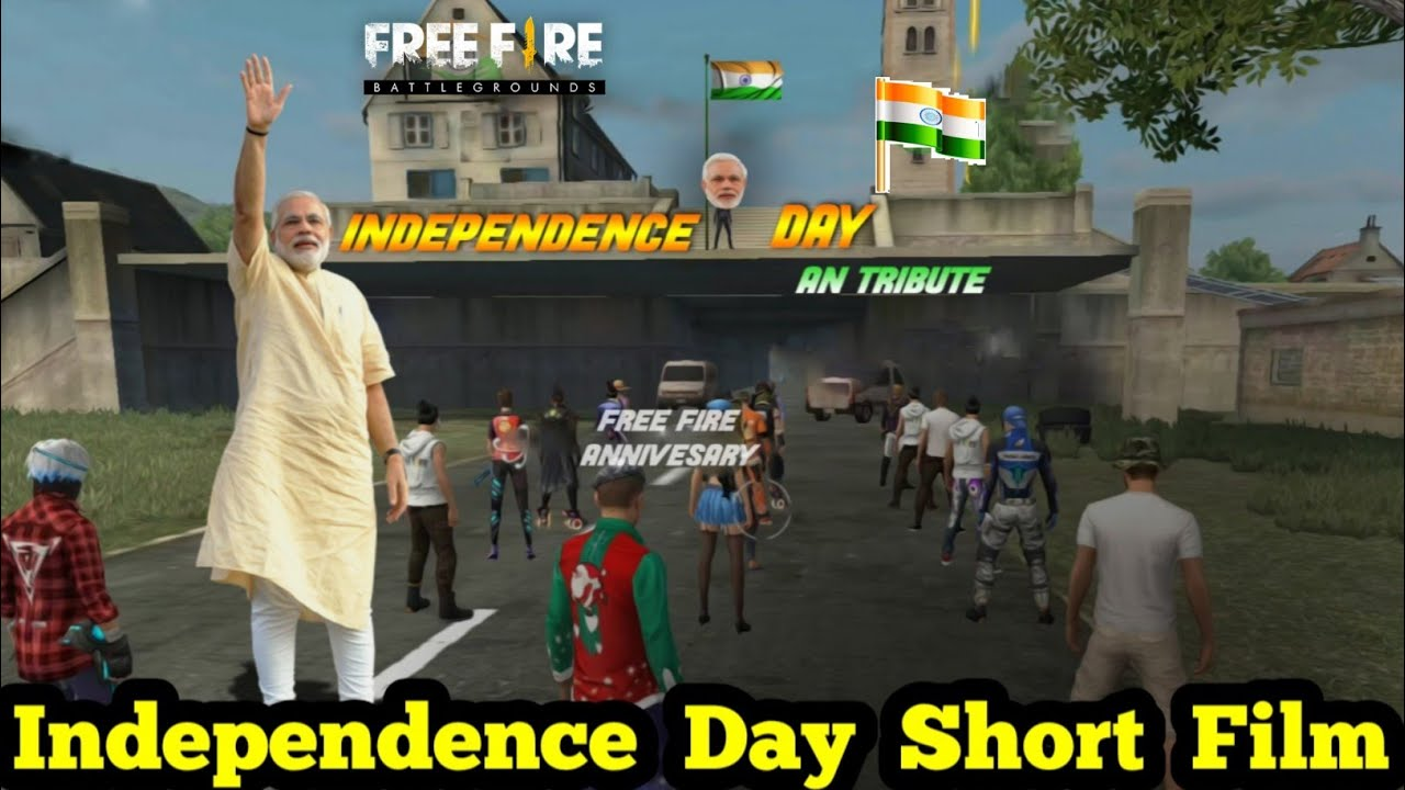 Independence Day Short Film In Free Fire Free Fire Flag Hoisting In School Short Flim