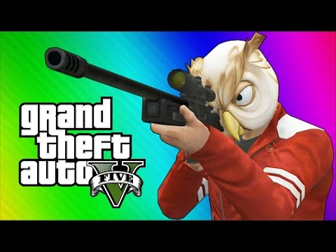 gta-5-next-gen-funny-moments---sniper-montage,-treehouse,-glitches,-bank-robbery!