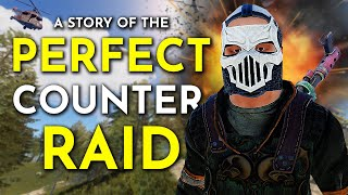 DESTROYING STUPID GROUP THAT TRAPPED ME AT A COUNTER RAID - A Rust Survival Story