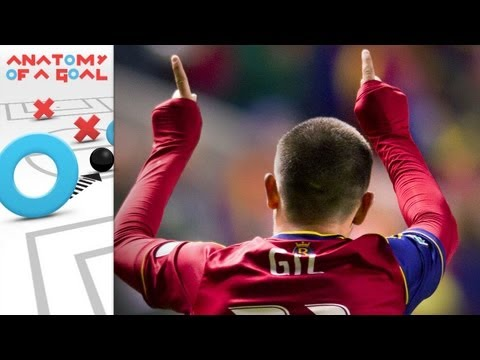 Anatomy of a Goal: Luis Gil perfects the set piece for Real Salt Lake