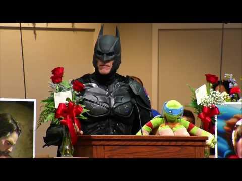 Jacob Hall Funeral | Mourners Don Superhero Costumes for School Shooting Victim