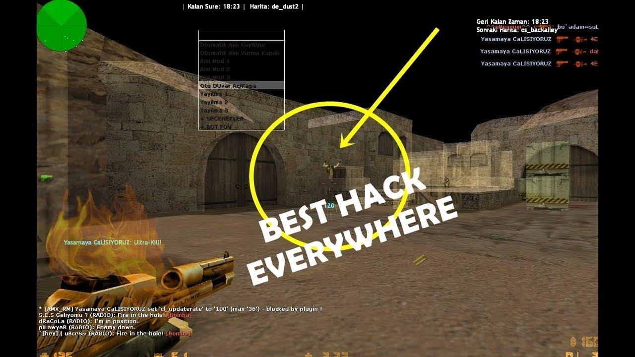 Counter Strike'da Sınırsız Mermi Hilesi!