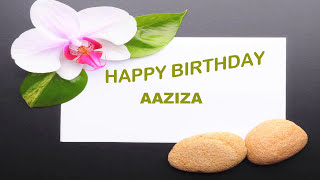 Aaziza   Birthday Postcards & Postales