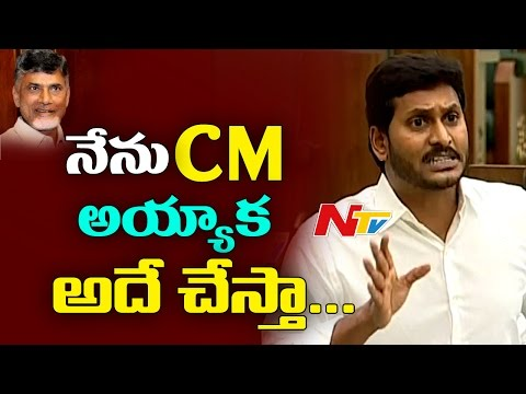 I Will definitely Do The Same to TDP : YS Jagan || Assembly Budget Session || AP Assembly ||  NTV