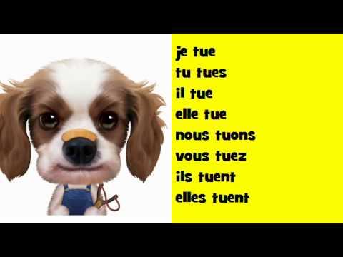 J Apprends La Conjugaison Soul Verbe Tuer Youtube