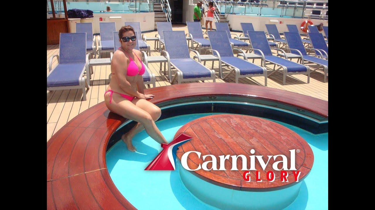 Carnival Glory. Pool Jacuzzi - YouTube