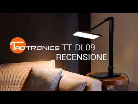 Taotronics Tt Dl09 Schreibtischlampe Unboxing Amp Kurzr