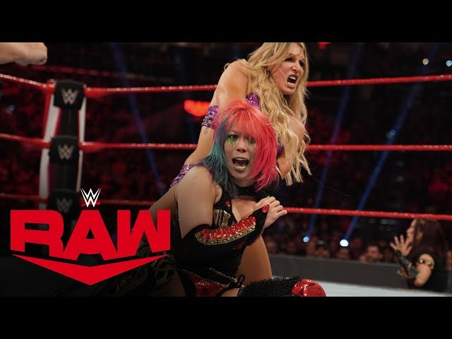 Charlotte Flair vs. Asuka: Raw, Jan. 27, 2020