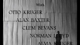 Saboteur (1942)  -- OPENING TITLE SEQUENCE