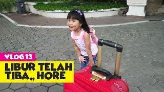 #Vlog13 Part 1 Liburan Dede Senja - Room Tour Kamar Hotel Grand Aquila Bandung
