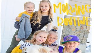 Morning routine with big family| Meet the Millers Family Vlogs