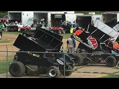 "ASCS vs USCS Jackson Motor Speedway ""Not So Civil War"" Sprint Car Race"
