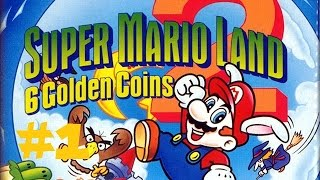 Let`s Play Super Mario Land 2 #1 - Mario aufm Mond