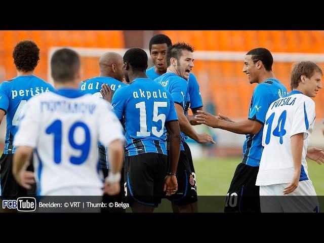 2010-2011 - Europa League - 02. 3de Voorronde - Dinamo Minsk - Club Brugge 2-3