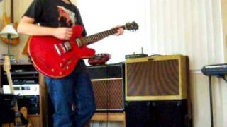 """The Killers """"Shadowplay"""" (guitar cover)"""