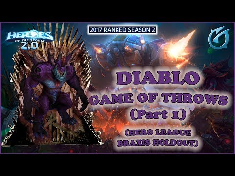 Grubby | Heroes of the Storm 2.0 - Diablo - Game of Throws Part 1 - HL 2017 S2 - Braxis Holdout