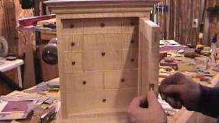 Woodworking: Curly Maple Spice Box Part 27