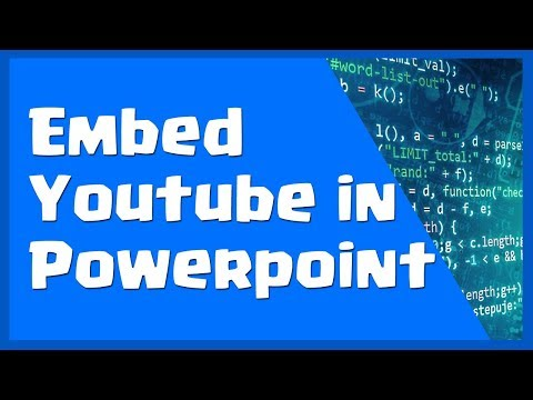How to Embed a Youtube Video in Powerpoint - Embed Video into PPT