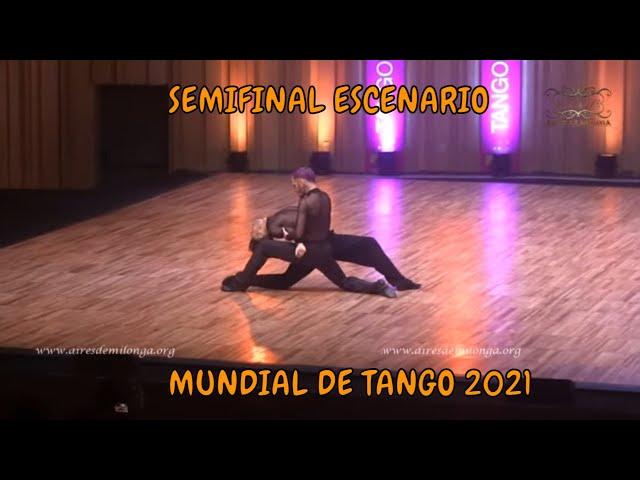 SEMIFINAL ESCENARIO, Federico Carrizo, Juan Francisco Segui, Mundial de tango 2021 World cup