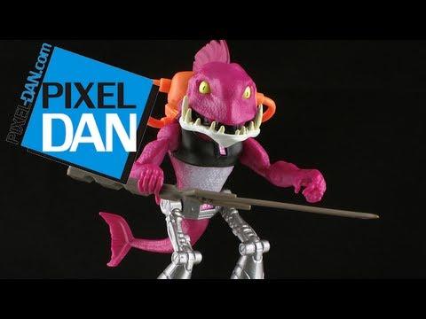Nickelodeon Teenage Mutant Ninja Turtles Fishface Figure Review