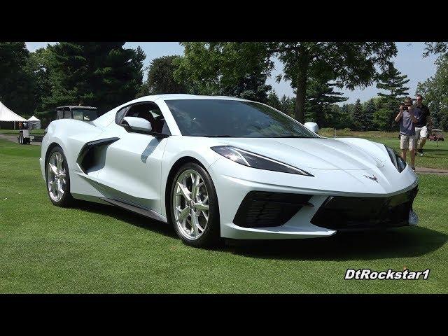 C8 Mid Engine Corvette (x2) in Motion | See interior & Engine
