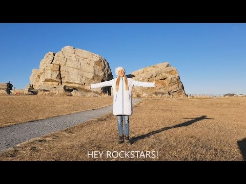 Geology is for Rockstars: A BIG ROCK! My footage of the Big Rock (glacial erratic).